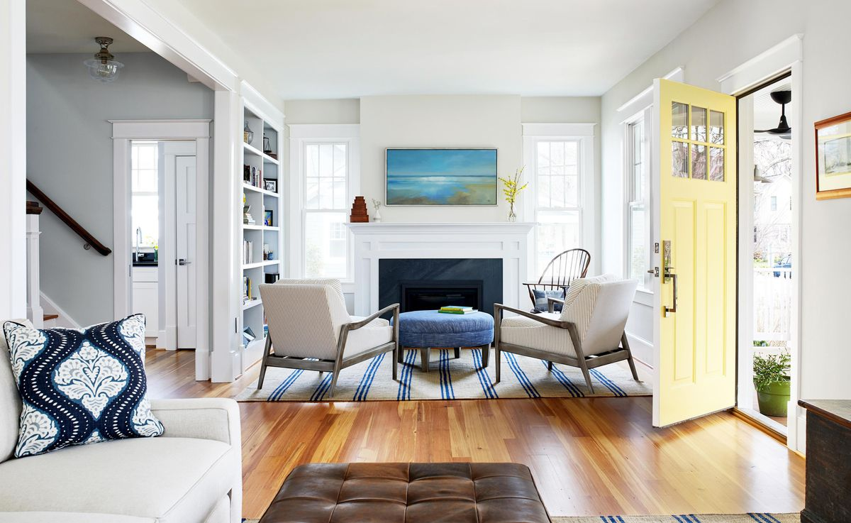 Spring 2021, House Tour: Liverman, living room/entryway