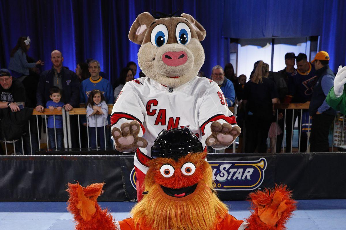 2020 NHL All-Star - NHL Fan Fair & Mascot Showdown