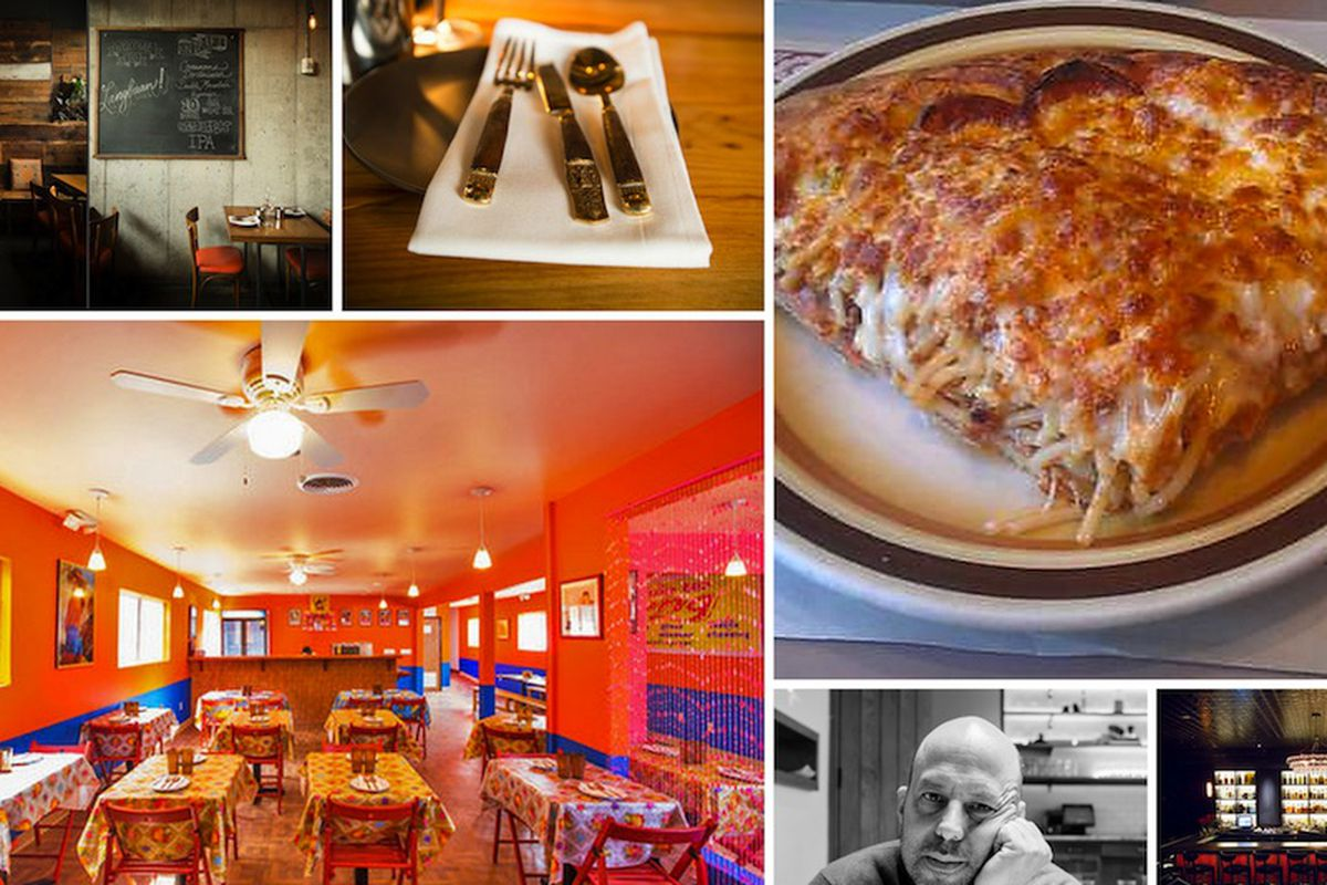 """Clockwise from top left: <a href=""""http://pdx.eater.com/archives/2014/03/20/inside-earl-ninsoms-langbaan-now-open-behind-paadee.php"""">Langbaan, PDX</a> [Photo: <a href=""""http://www.dinaavila.com/"""">Avila</a>]; <a href=""""http://montreal.eater.com/archives"""