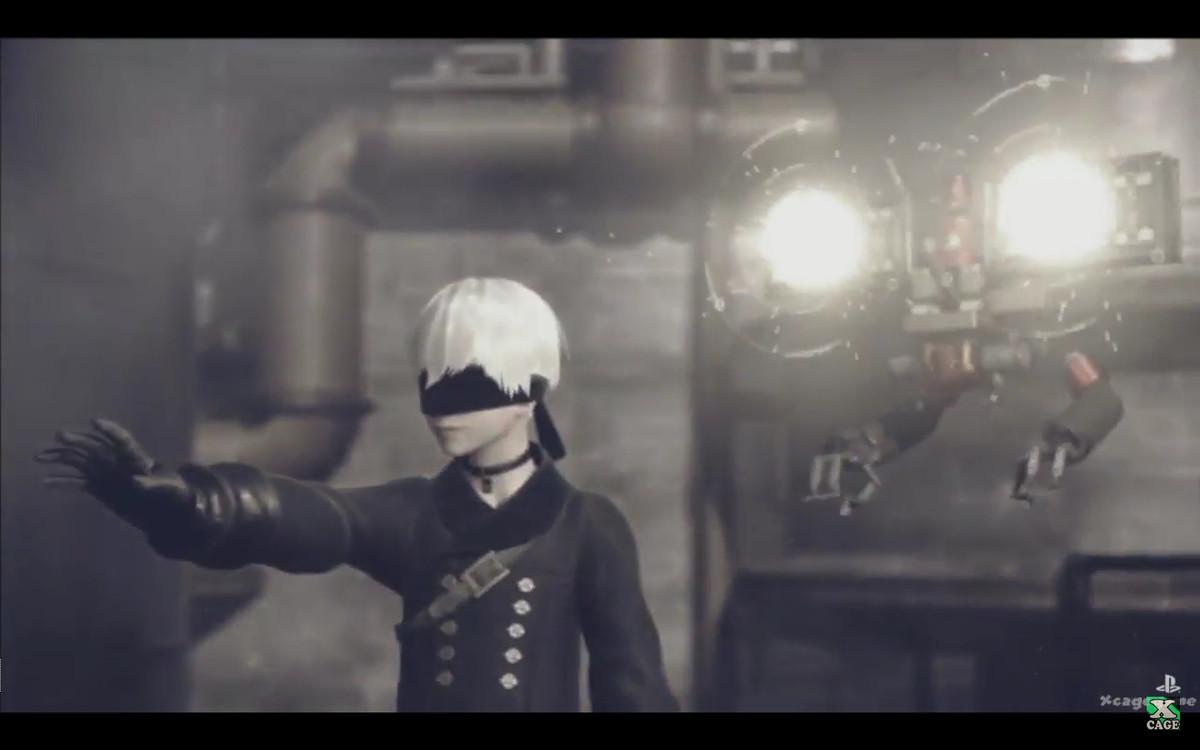 Nier Automata TGS trailer screen grab