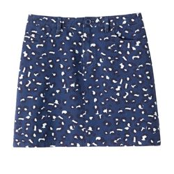 Leopard-printed skirt was $195 now $98