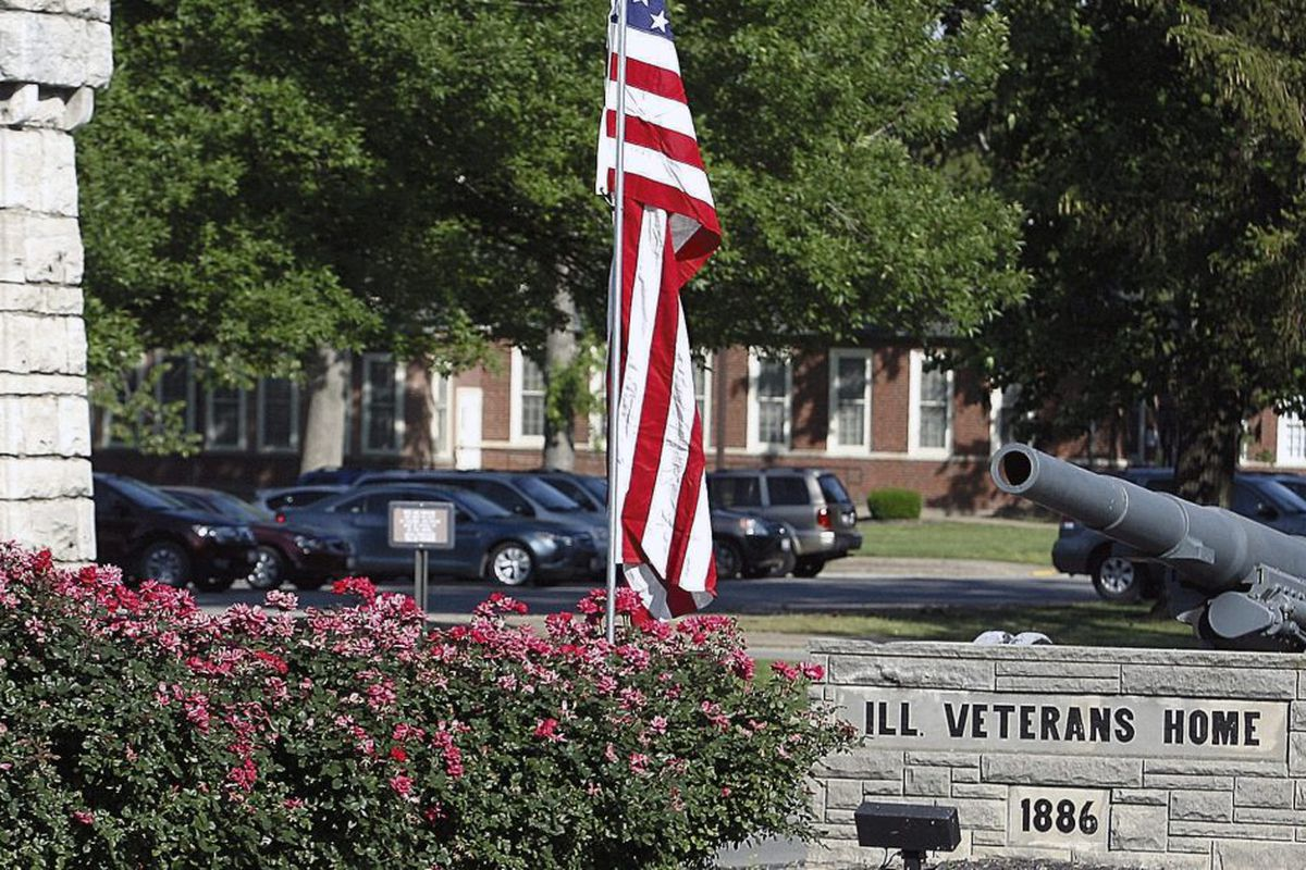 The Illinois Veterans Home in Quincy.