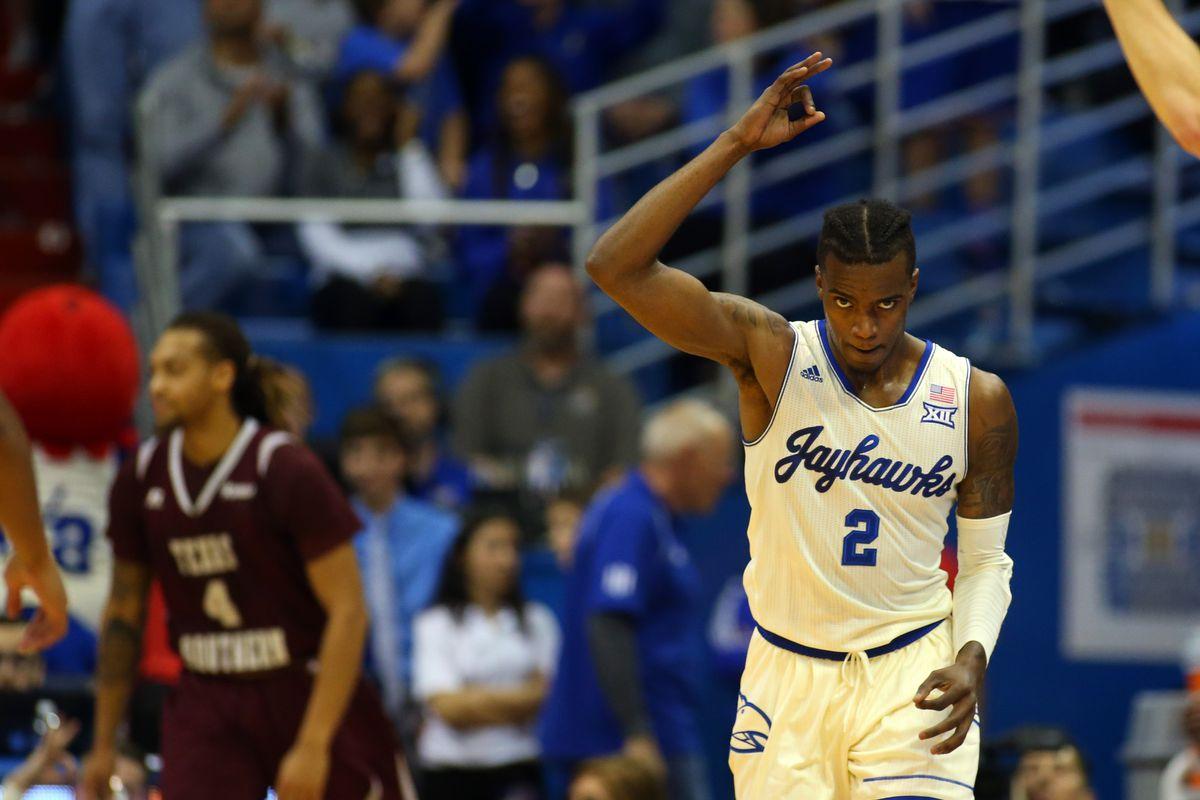 NCAA Basketball: Texas Southern at Kansas