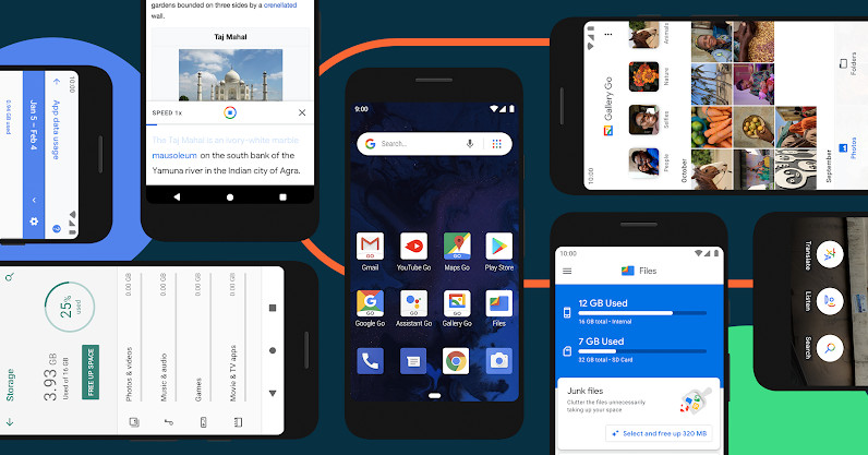 Android 10 Go is a faster and more secure update to Google's lightweight OS