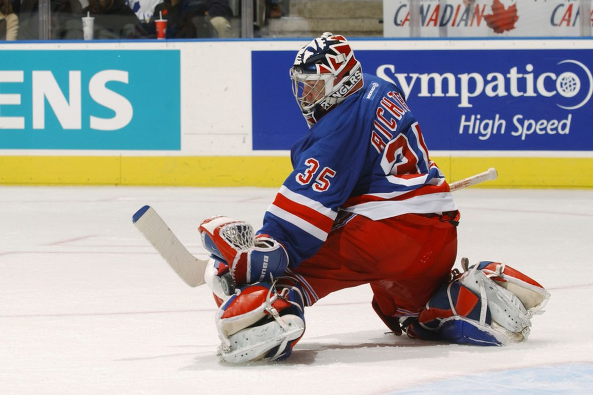<strong>Mike Richter </strong>... Joe's favorite New York athlete. (Photo by Dave Sandford/Getty Images/NHLI)