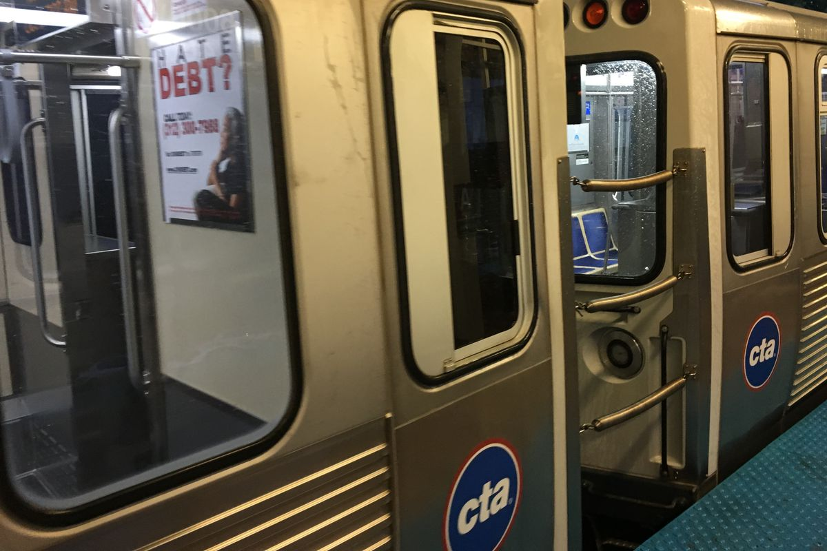 Police are conducting a death investigation after a man died May, 3, 2021 pinned between a CTA train and the platform.