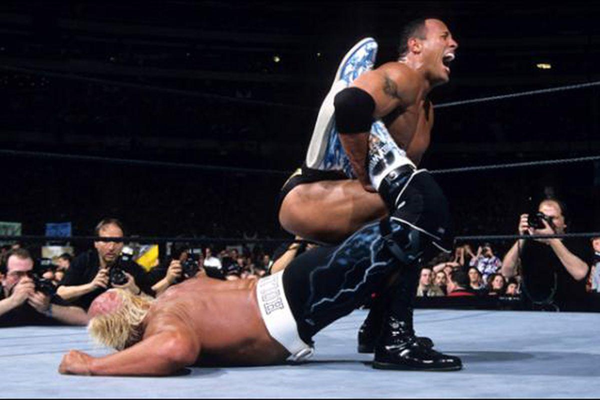 Hulk Hogan Vs Rocky