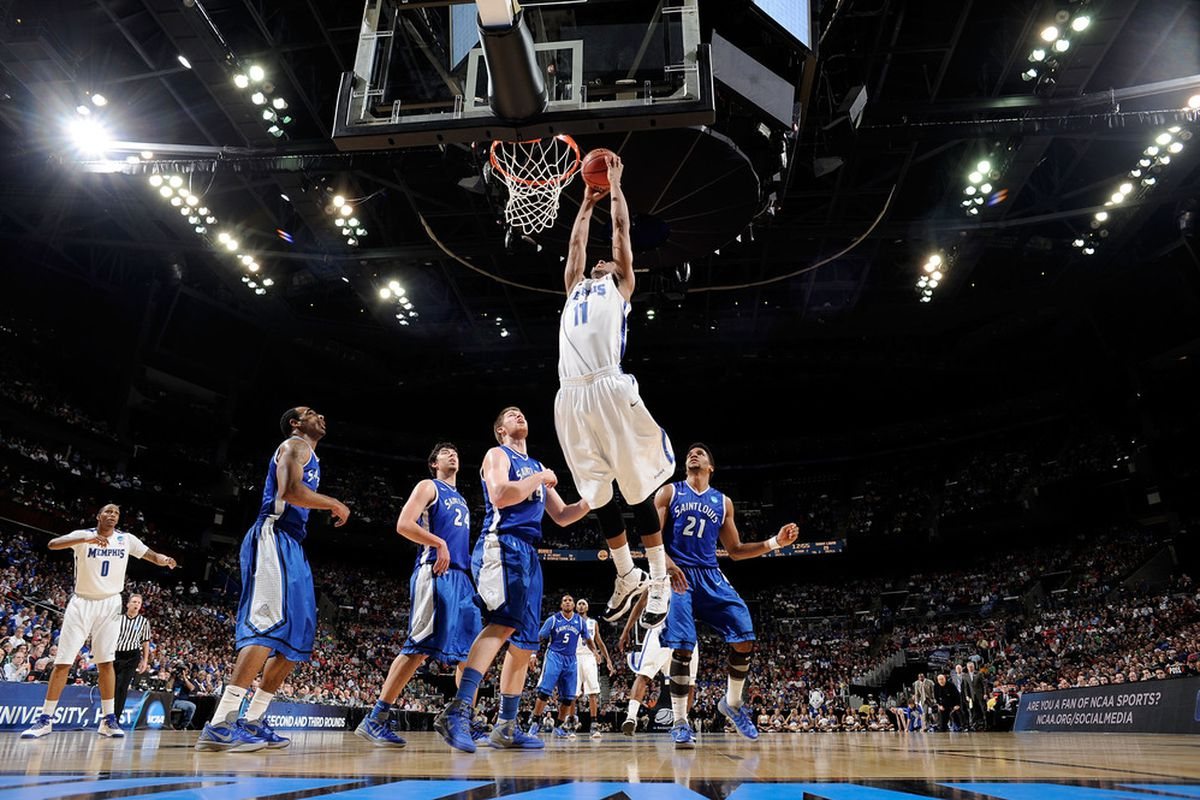 Memphis Tigers fans will have to travel to see sights like this in their team's final C-USA Tournament appearance.