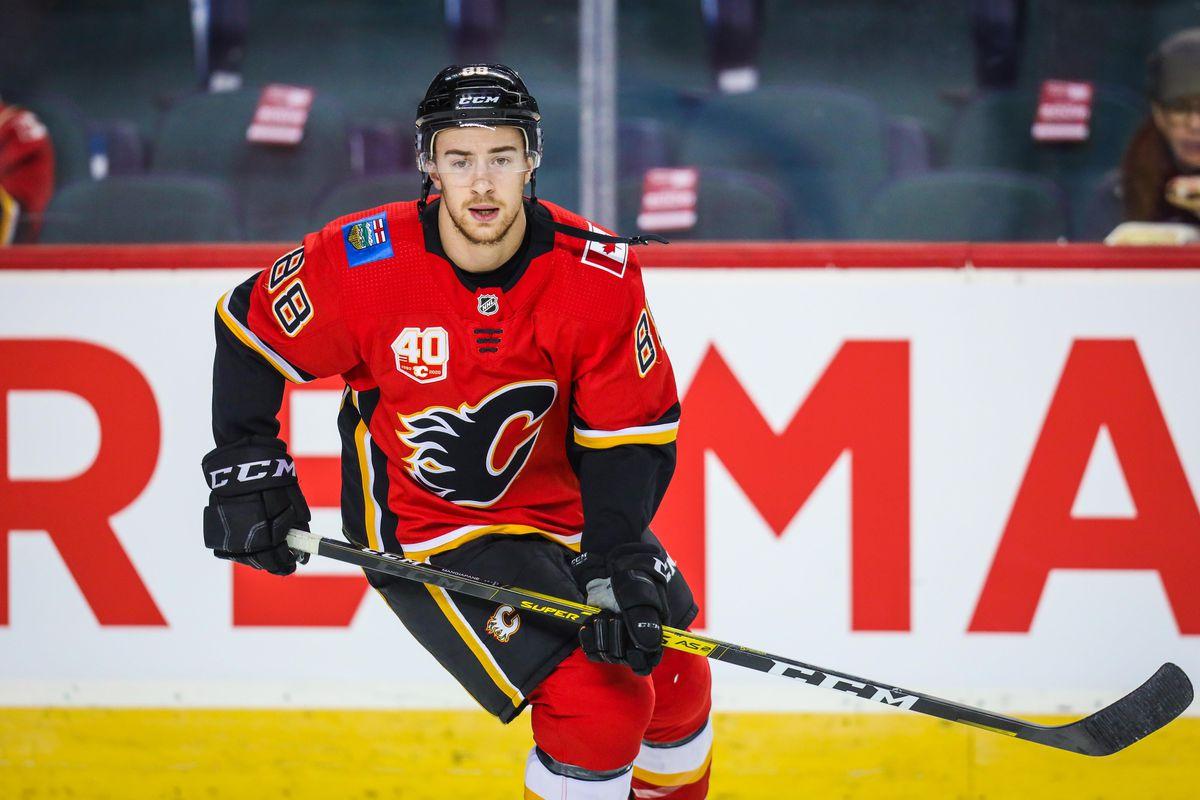 NHL: Dallas Stars at Calgary Flames