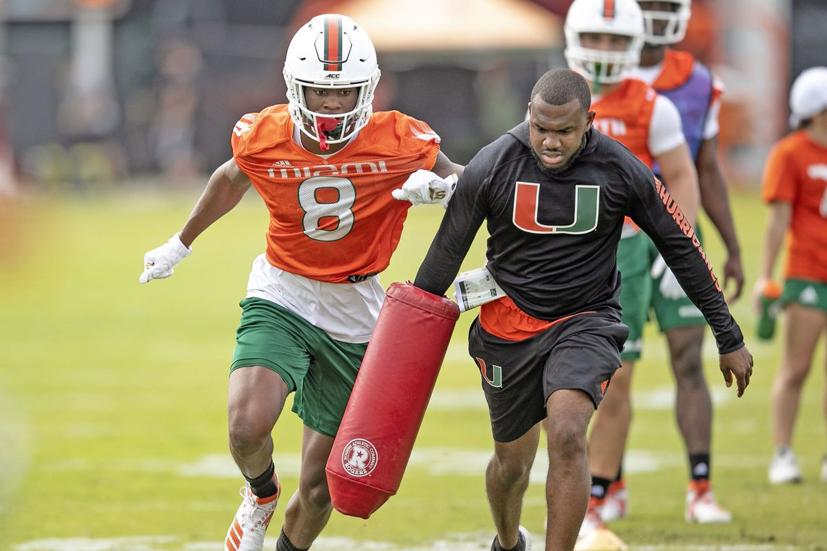 Get ready for fast and furious as new prolific Miami receivers coach takes the helm
