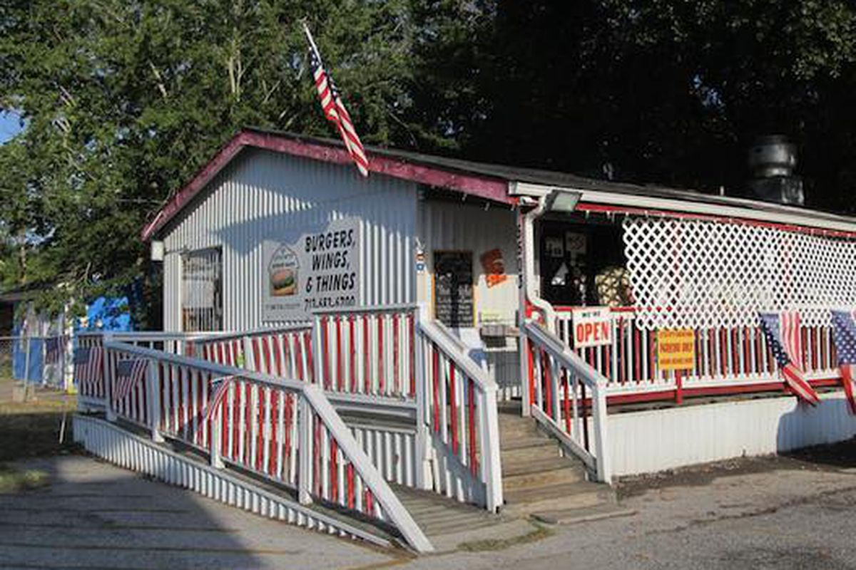 """Little Bitty Burger Barn in Houston [Photo: <a href=""""http://www.thequesoqueen.com/""""></a>"""