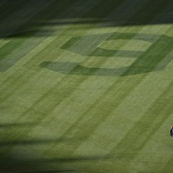 Luke Yoder and his team did an excellent job making right field look special to honor Tony Gwynn.