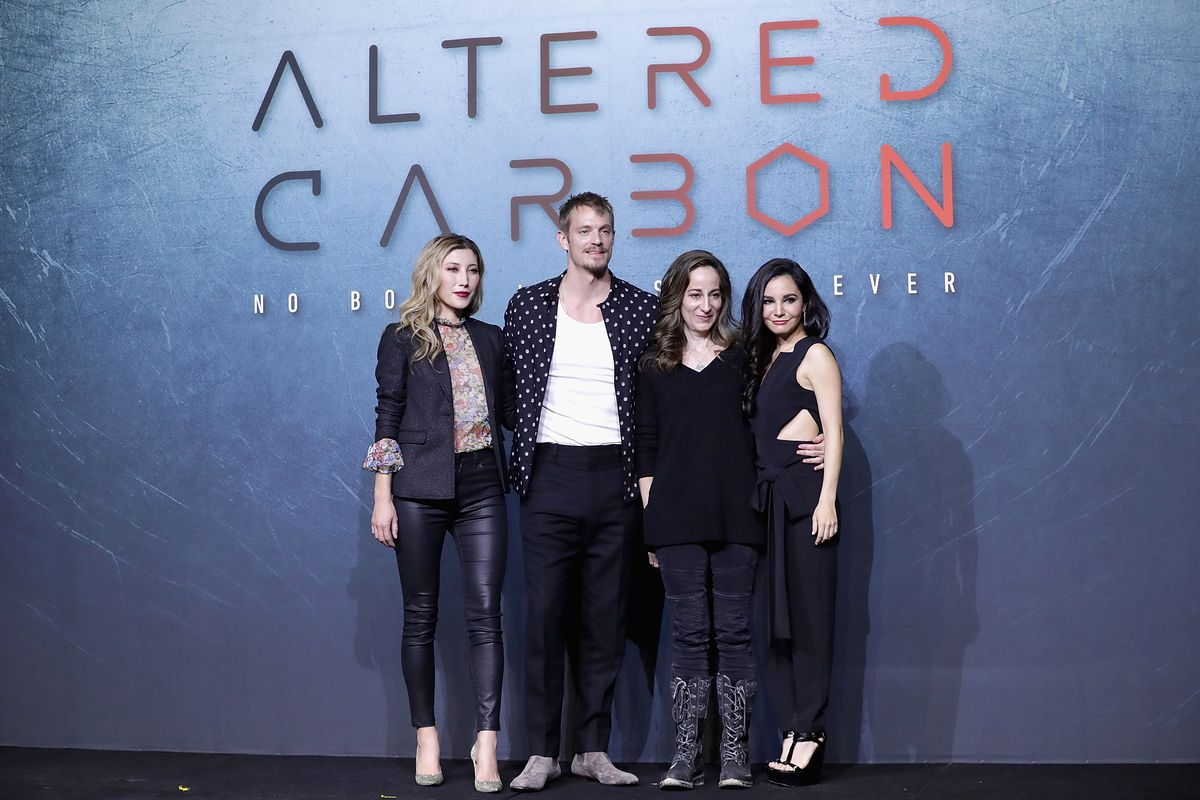 NETFLIX 'Altered Carbon' Press Conference In Seoul