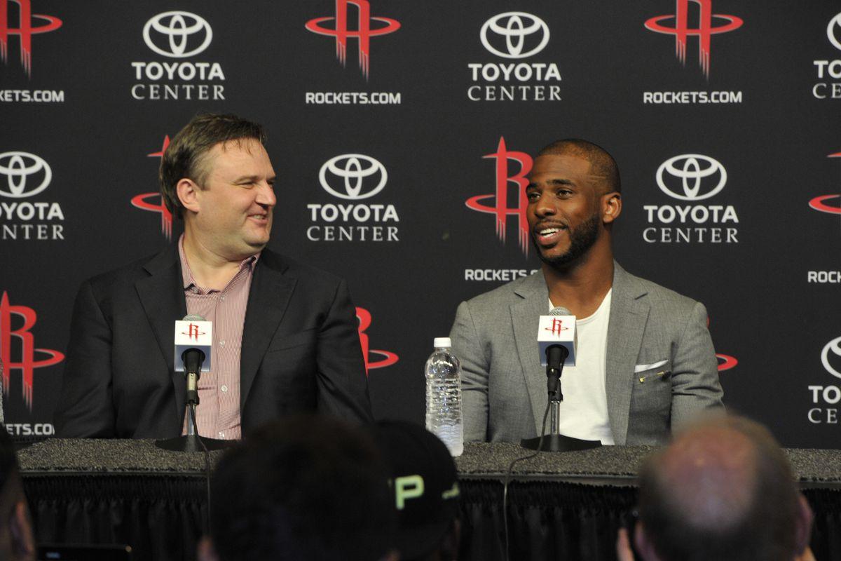 Houston Rockets Introduce Chris Paul Press Conference