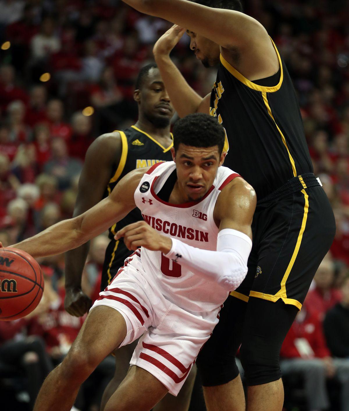 NCAA Basketball: Wis.-Milwaukee at Wisconsin