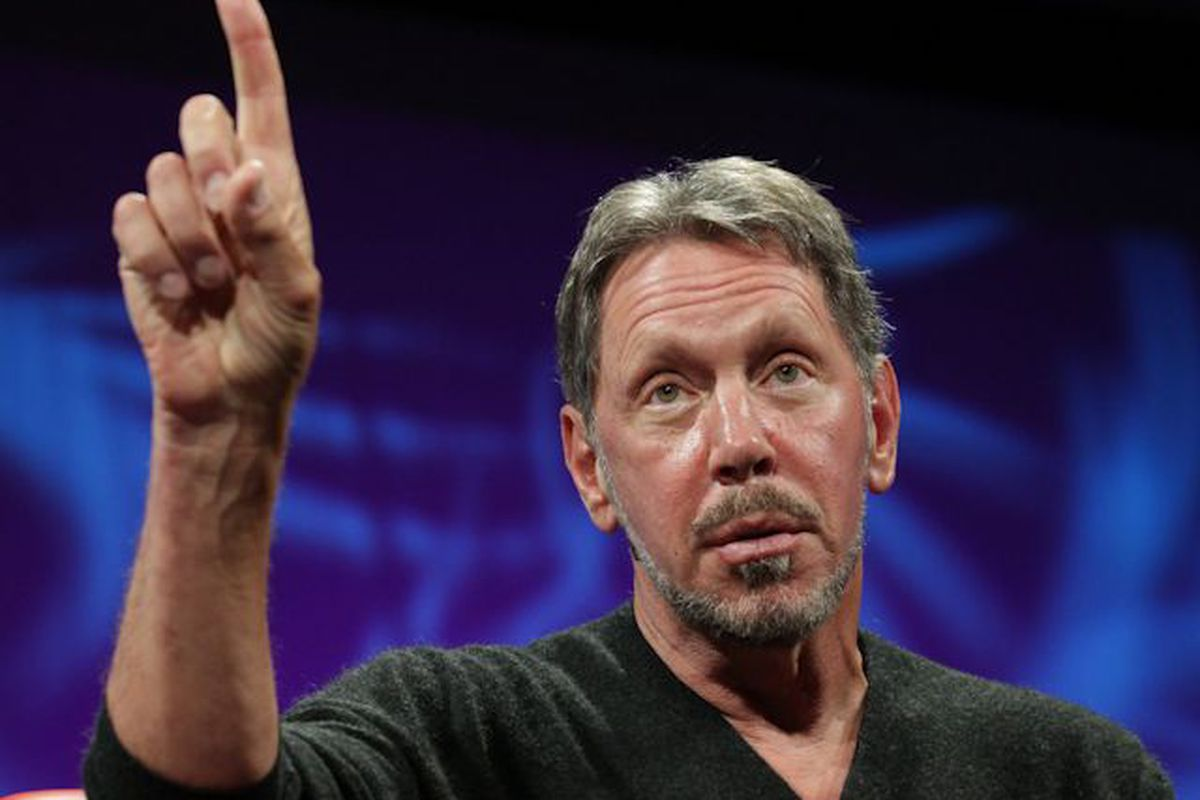 For Larry Ellison's Oracle, the Cloud Beckons