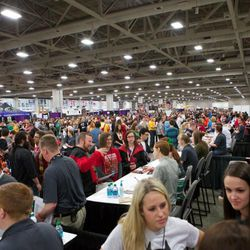 Salt Lake Comic Con FanXperience drew a record-setting crowd of over 100,000 people last weekend, making the event the third largest Comic Con in the United States.