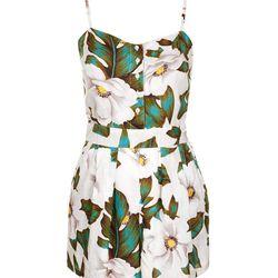 "Topshop Aloha floral strappy playsuit, $68 at <a href=""http://us.topshop.com/en/tsus/product/clothing-70483/rompers-and-jumpsuits-2281954/aloha-floral-strappy-playsuit-2759389?bi=1&ps=200"">Topshop</a>"