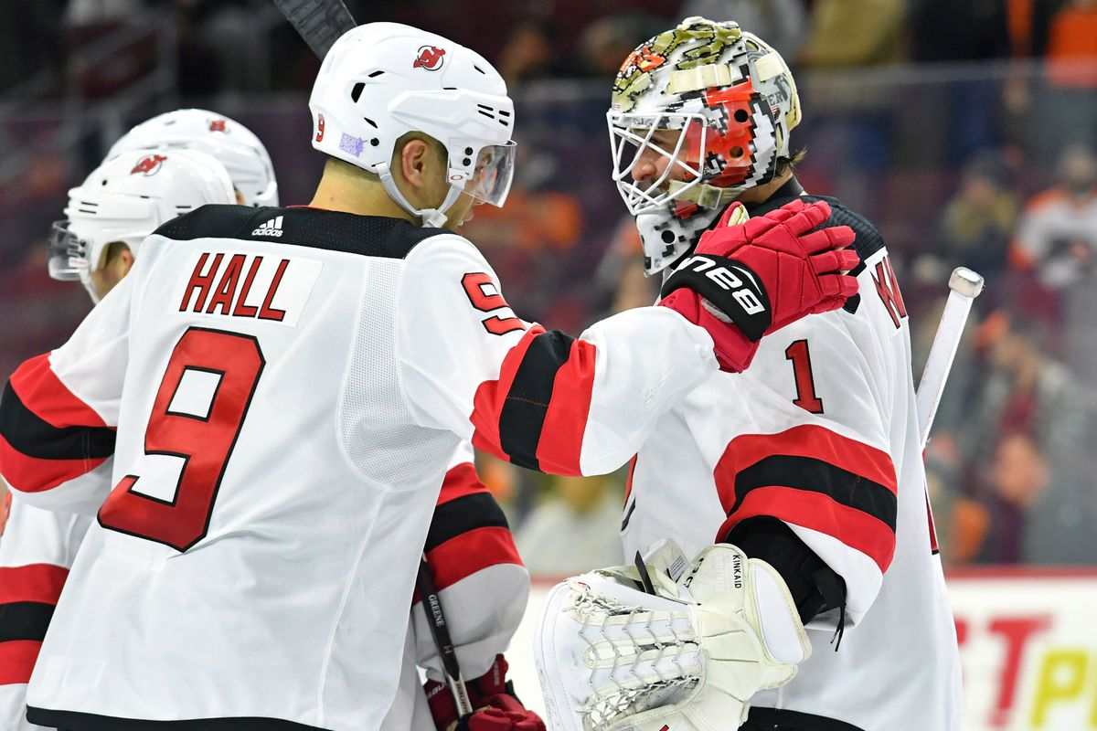 the best attitude f4d44 6c1b8 Kinkaid Reigned in New Jersey Devils Shutout Win Over ...