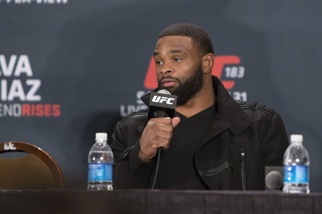 community news, Tyron Woodley to Georges St Pierre: Be honest, admit why you're really coming back to UFC