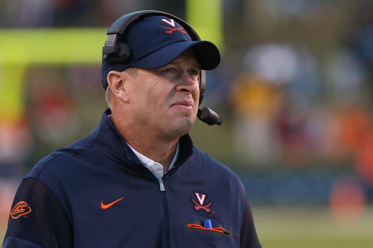 Bronco Mendenhall ranked 32nd out of Power Five football ...