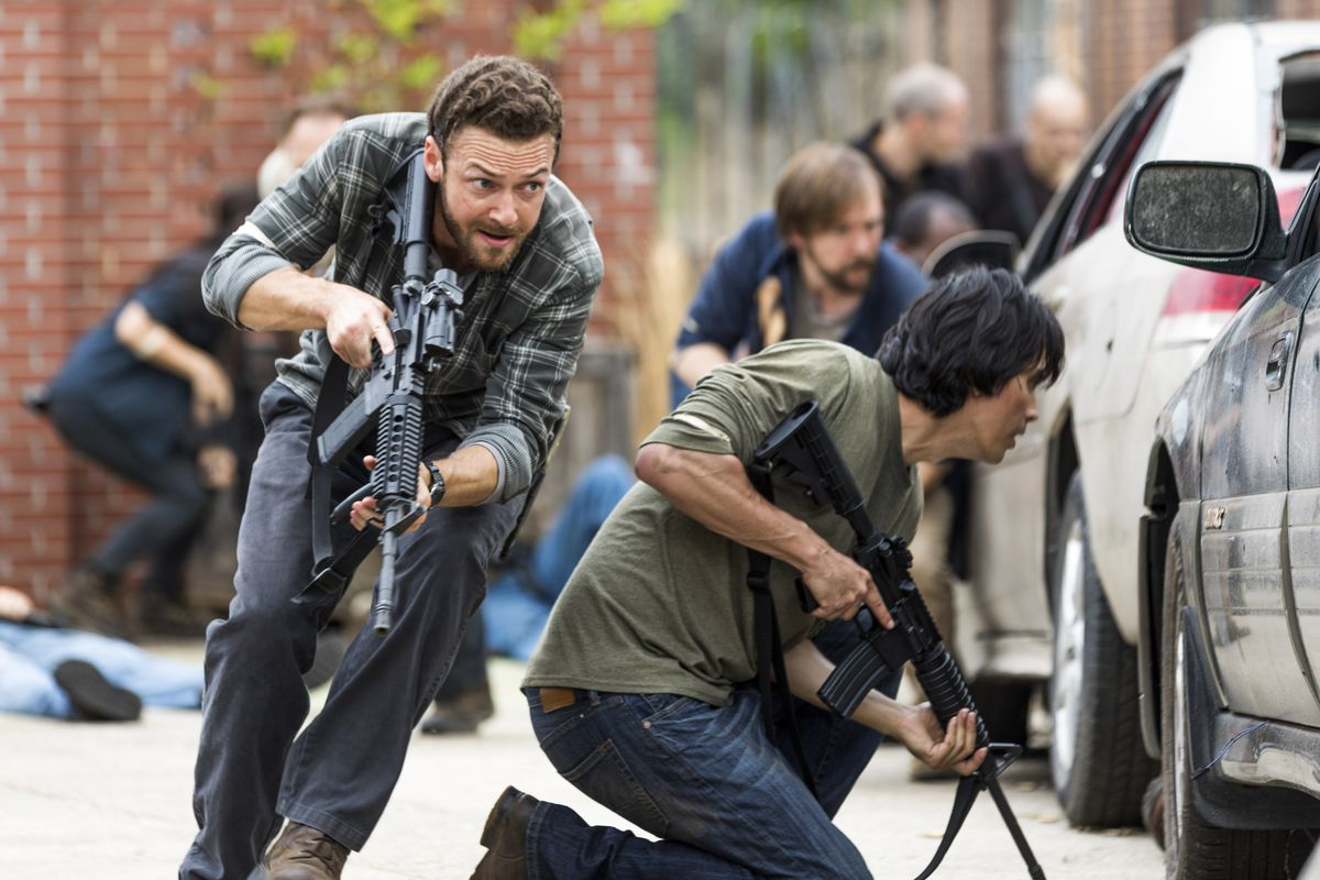 Image result for aaron the walking dead