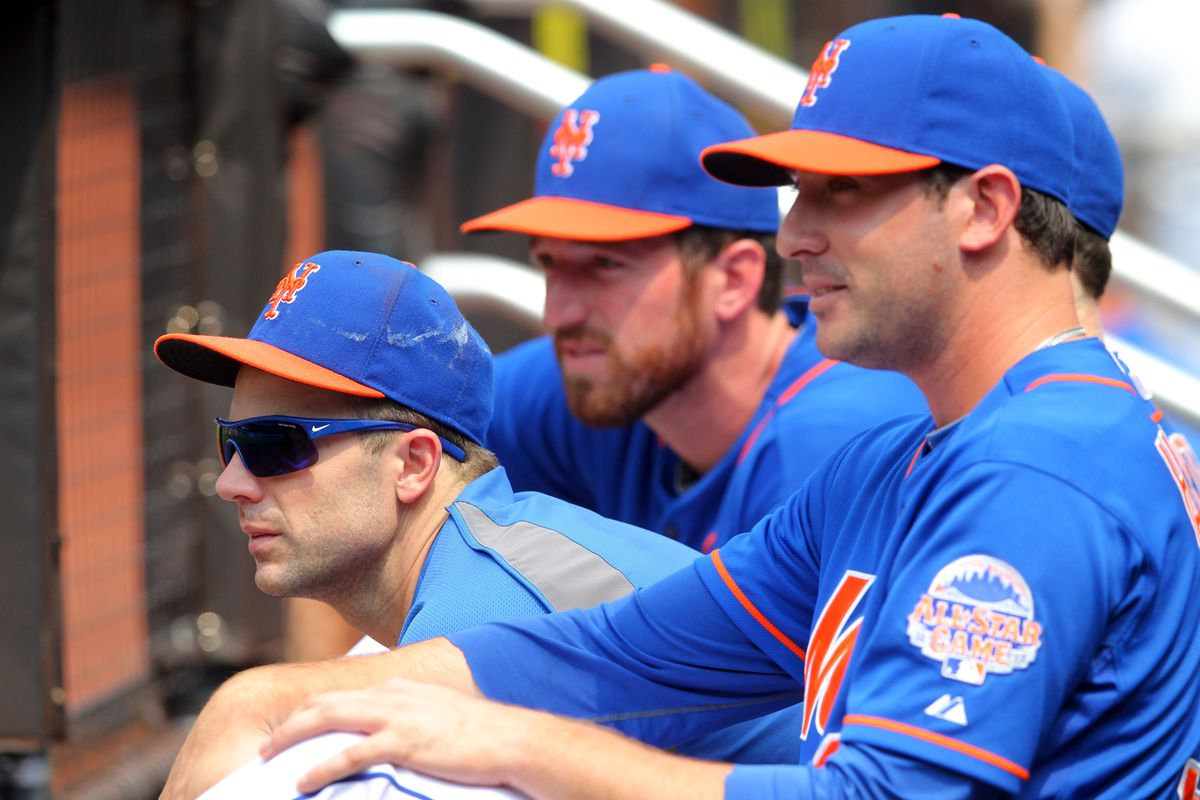 The core of the Mets: Wright, Harvey...and Davis
