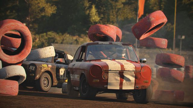 Wreckfest's best feature? It tells me how to tune the car I'm about to destroy