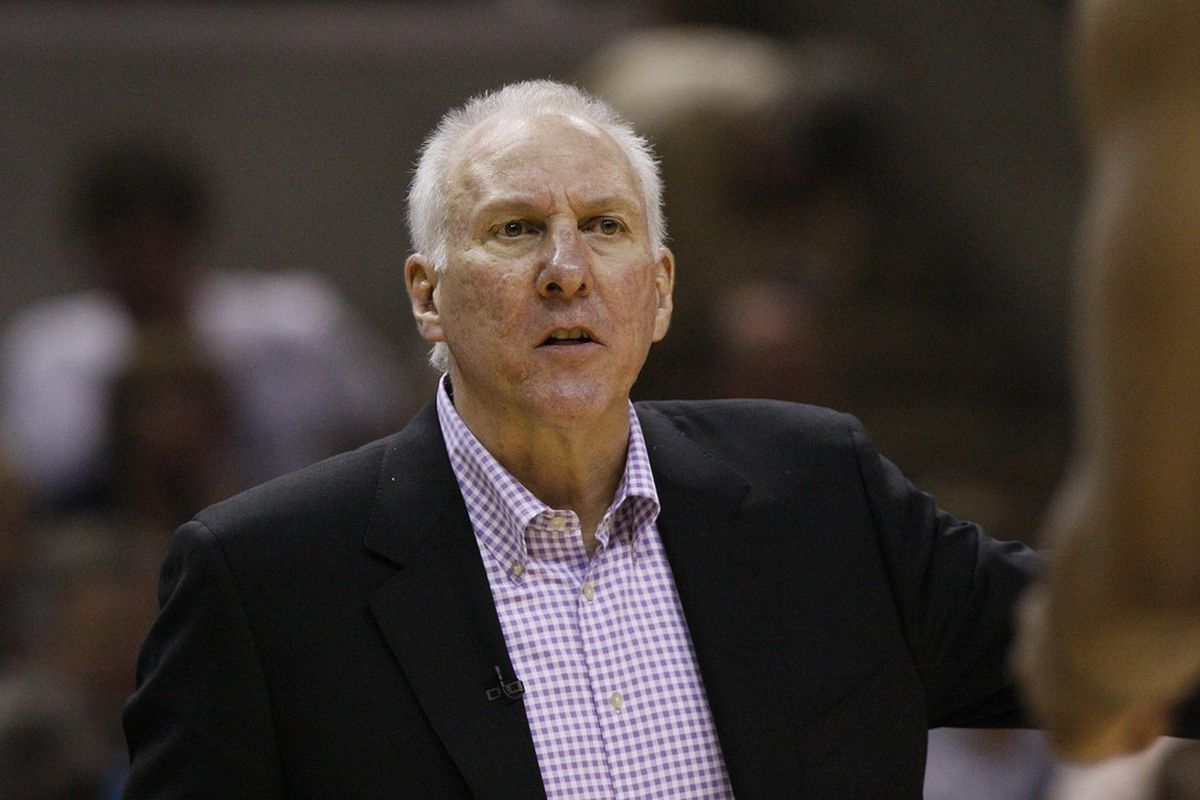 """Gregg Popovich...""""This is a man's game!"""""""