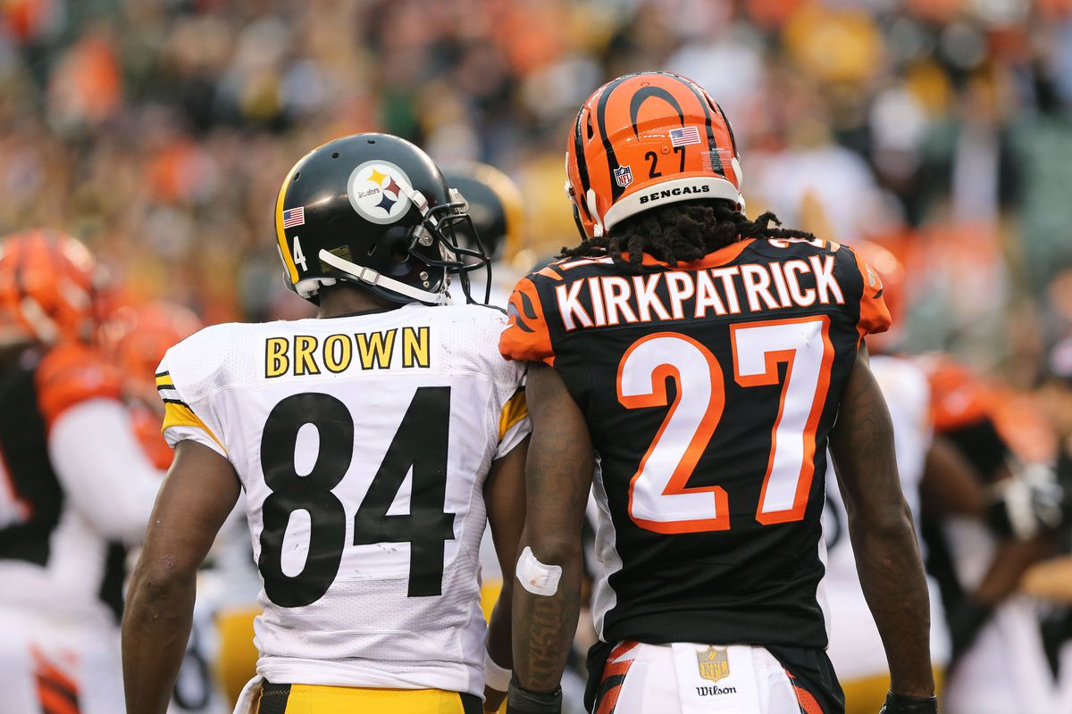 Antonio Brown puts Steelers Bengals rivalry aside to help Dre