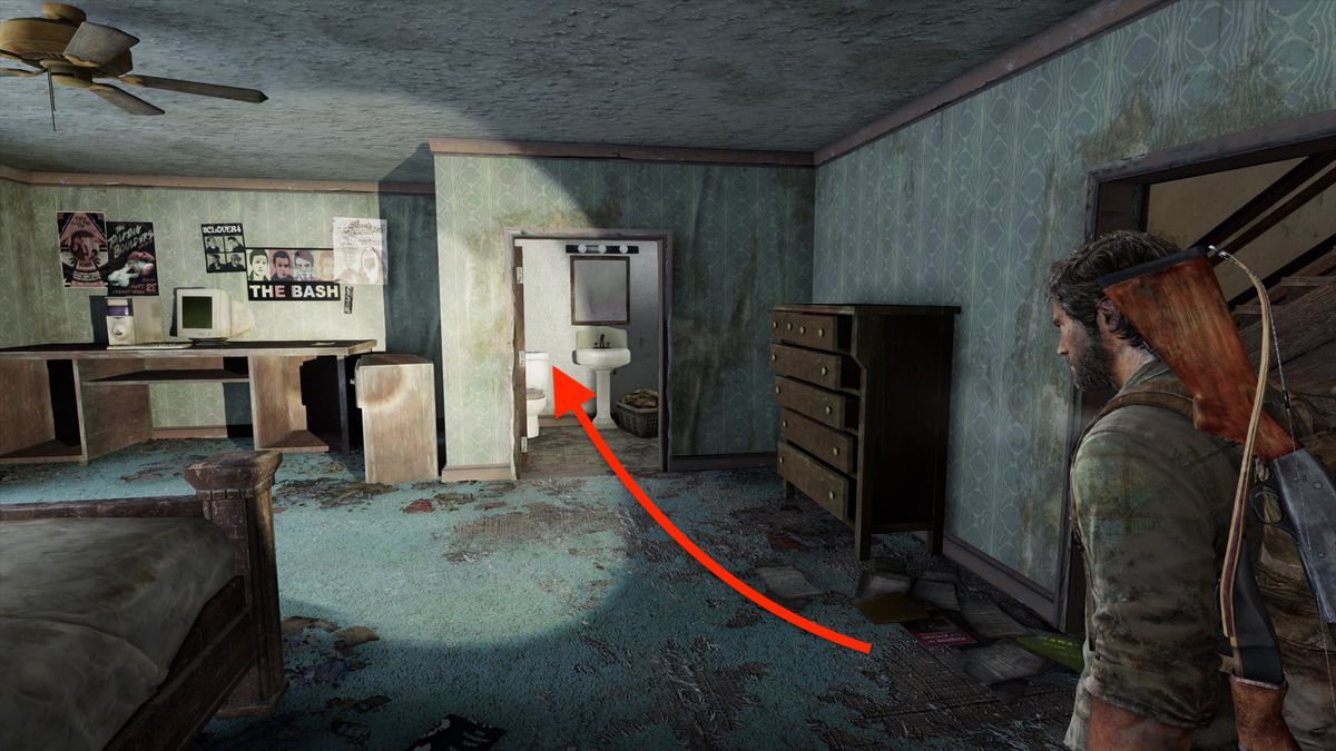 The Last of Us 'The Suburbs' collectibles locations guide