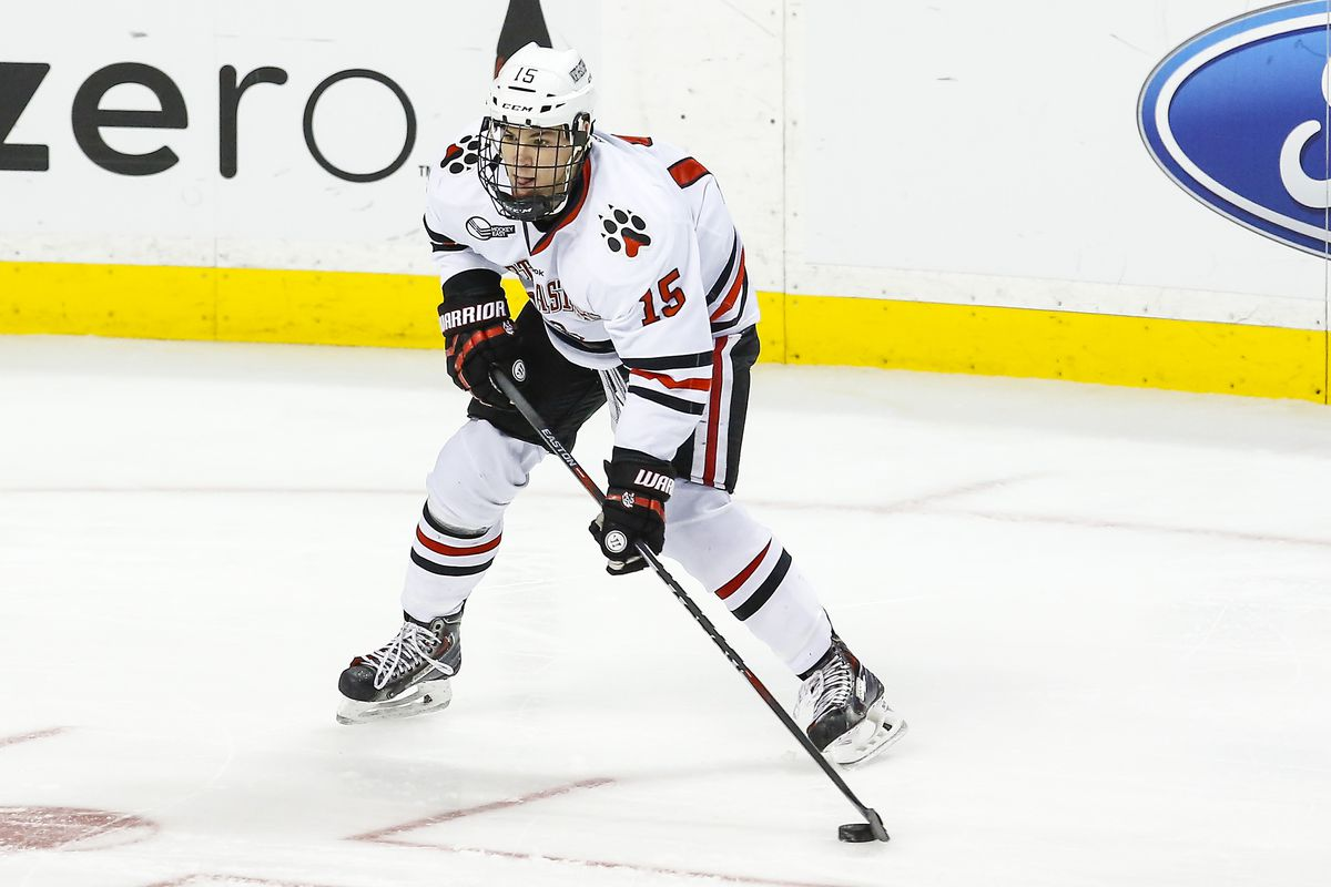 Kevin Roy was a unanimous selection to the SB Nation College Hockey Preseason All-Hockey East Team.