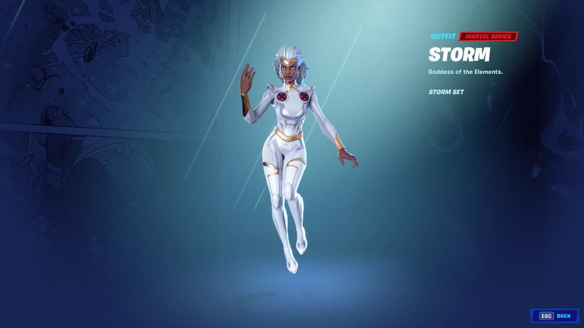 Fortnite's Storm skin