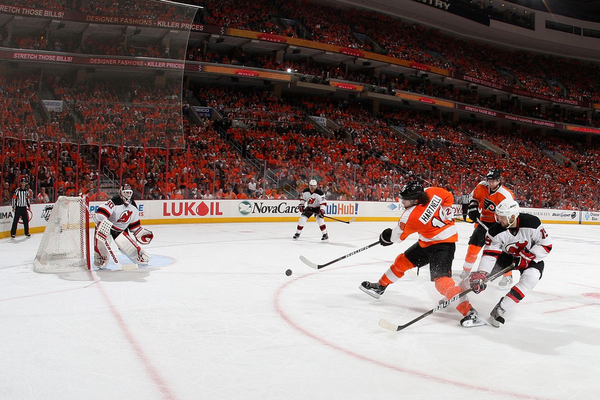 Please hockey gods, just let this series go seven games. (Photo by Jim McIsaac/Getty Images)