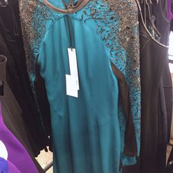 Embroidered dress, $275 (was $1,690)