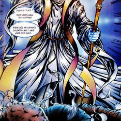 """Experts say religious comics help people transcend past the pages and delve deeper into their own faith, as well as religions they dont understand completely. The photo to left is of the Christian Comic book, """"Archangles."""""""