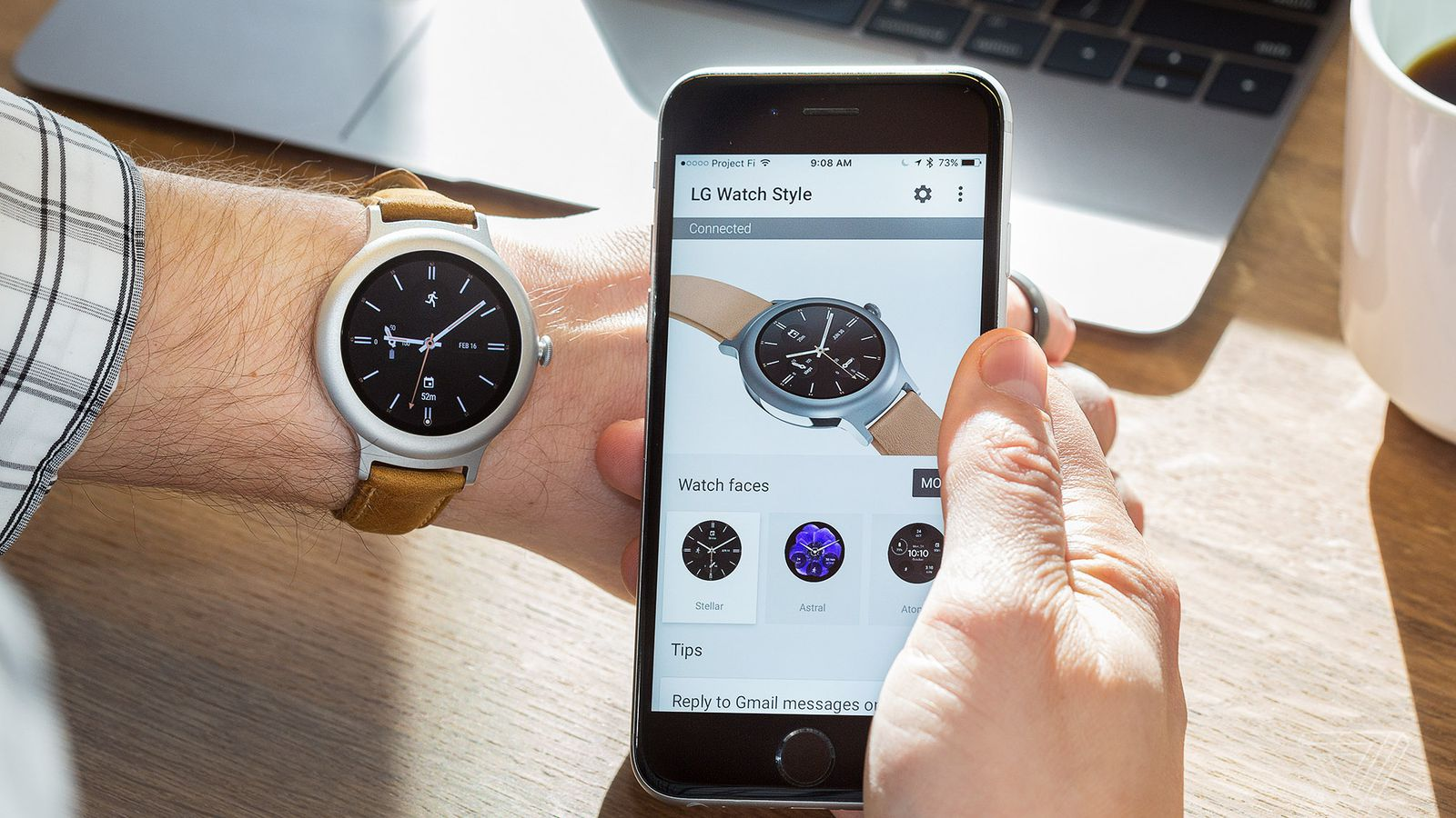 Android Wear with an iPhone still can't compete with the ...