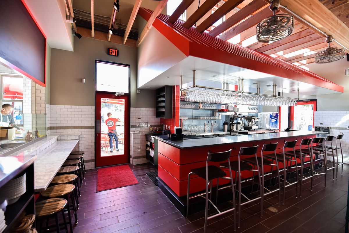 Check Out Pizzeria Vetri's First Austin Location in Urban Outfitters