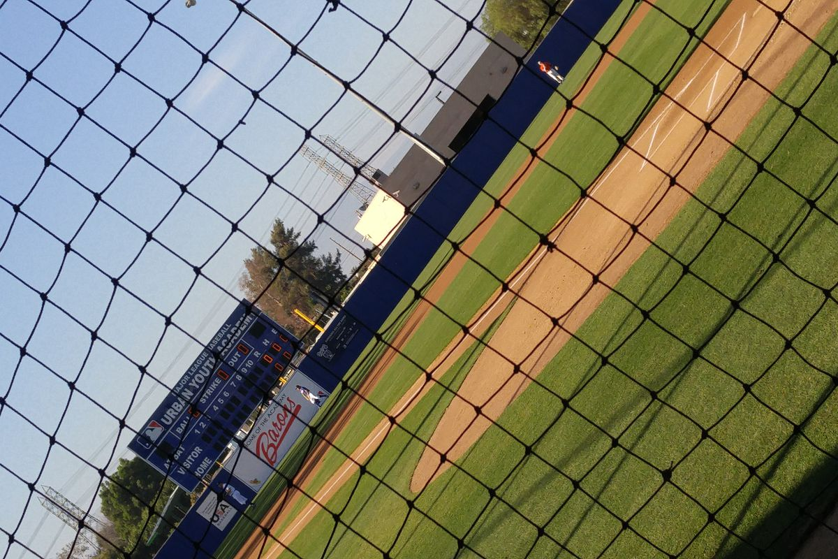 The MLB Urban Youth Academy in Compton, California, home of the California Collegiate League's Academy Barons.