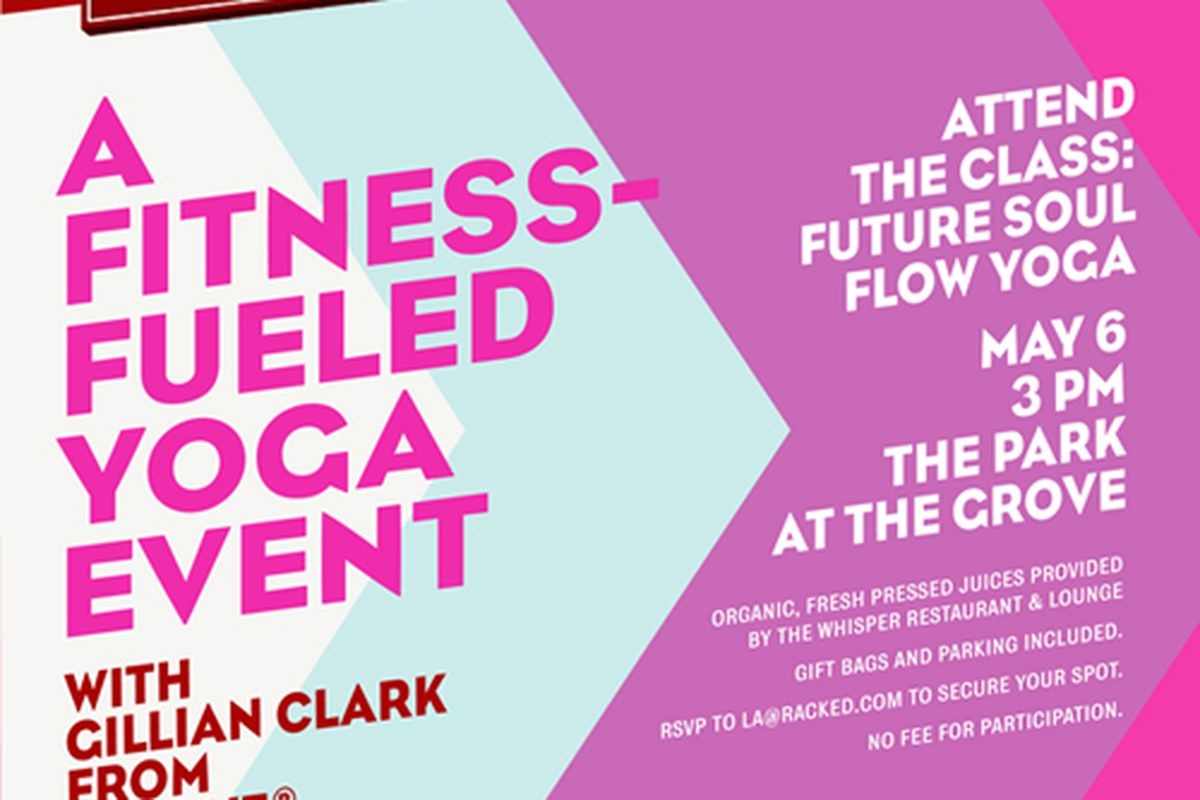 7167577830 Join Us at The Grove For Free Yoga with Athleta Next Tuesday ...