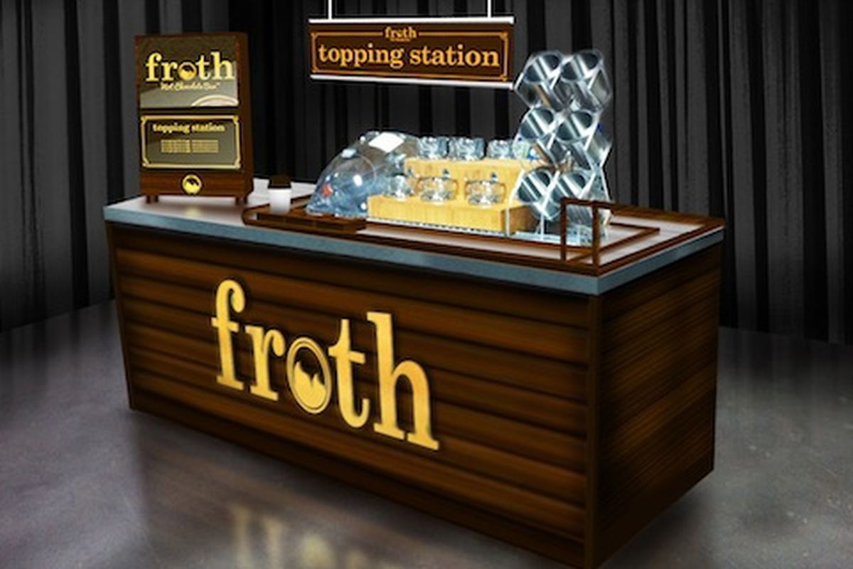 Forever Yogurt Opens Froth Hot Chocolate Bar - Eater Chicago
