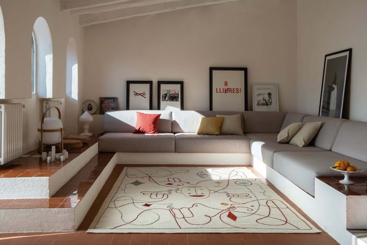 Whimsical rug by Jaime Hayon is like a visual puzzle on your ...