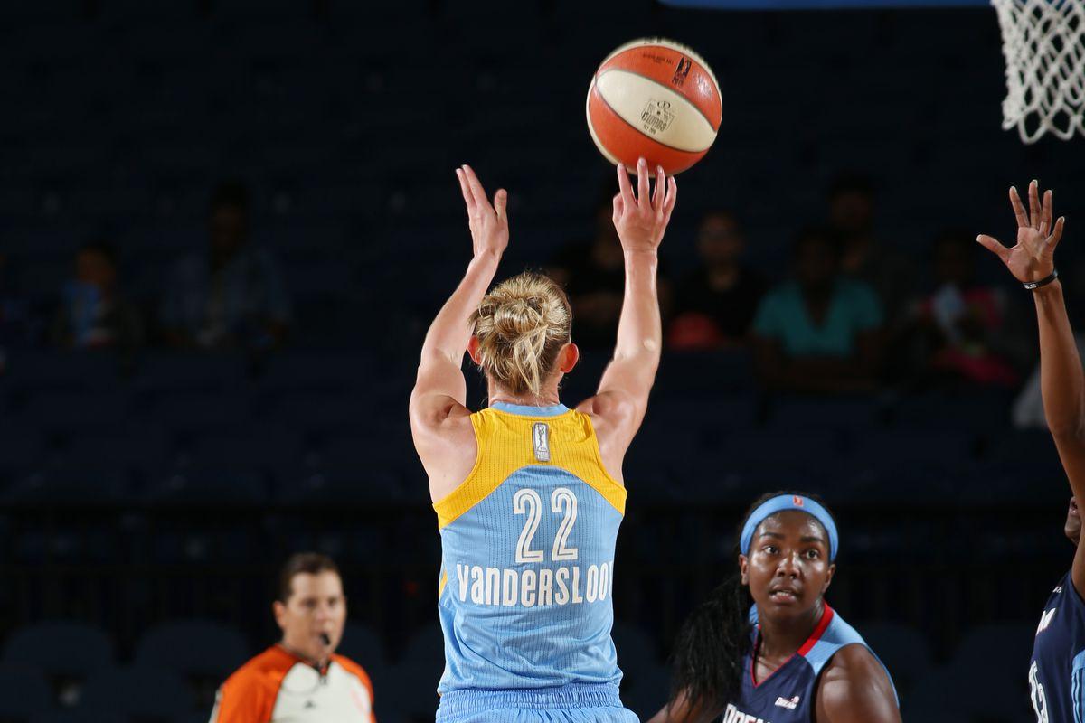 Chicago Sky beats Atlanta Dream in WNBA Playoffs