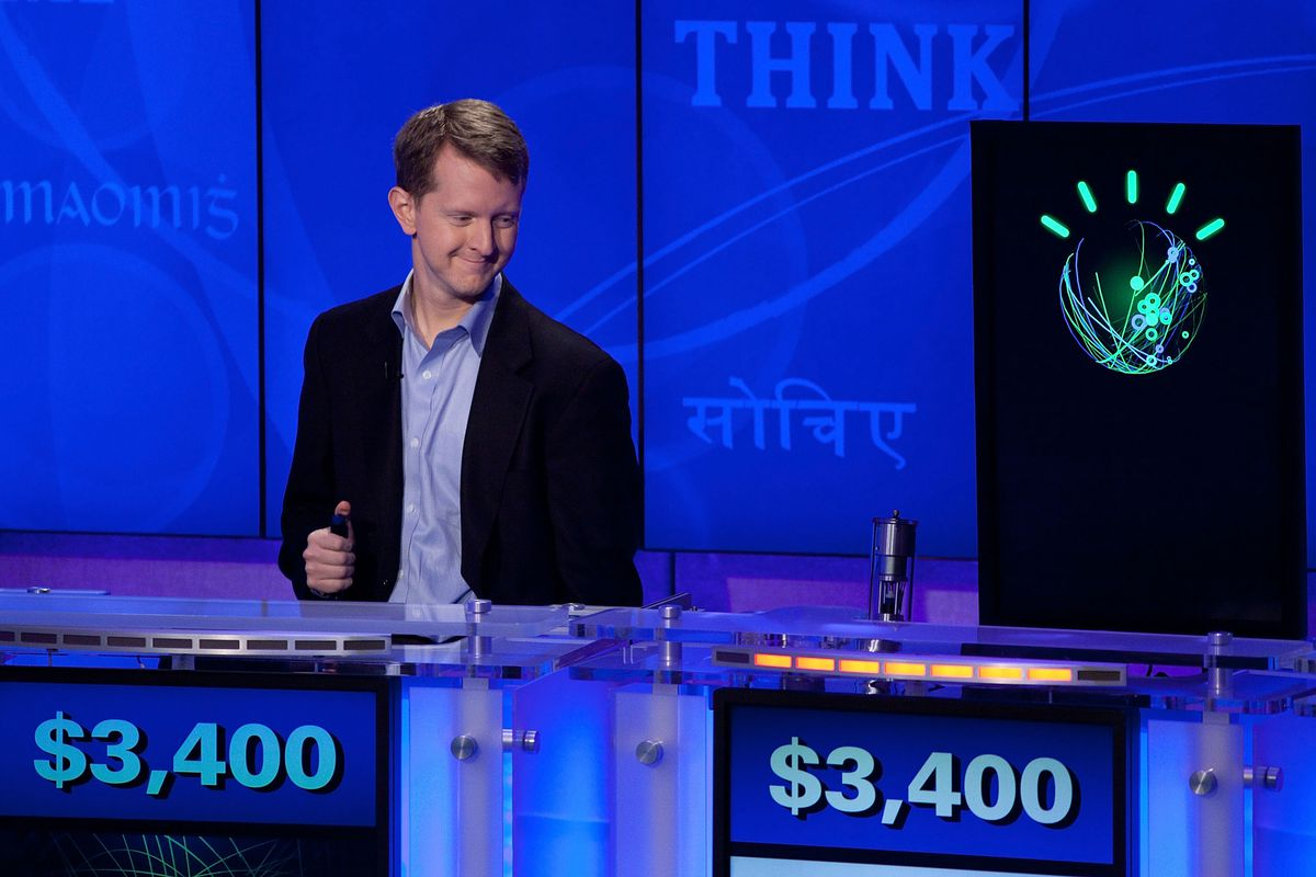 'Jeopardy!' & IBM Man V. Machine Press Conference
