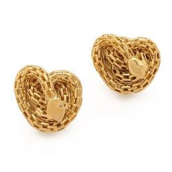 """<strong>Kara Ross</strong> Knotted Snake Clip On Earrings, <a href=""""http://www.shopbop.com/knotted-snake-clip-stud-earrings/vp/v=1/1582770699.htm?fm=search-viewall-shopbysize"""">$115</a> at <a href=""""http://www.augustinaleathers.com/jewl_kara_ross.htm"""">Augus"""