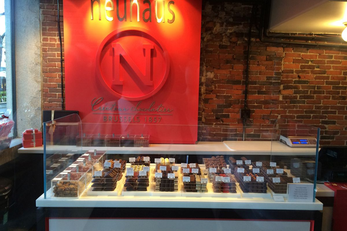 Neuhaus Opens Chocolate Shop at the Faneuil Hall Marketplace ...