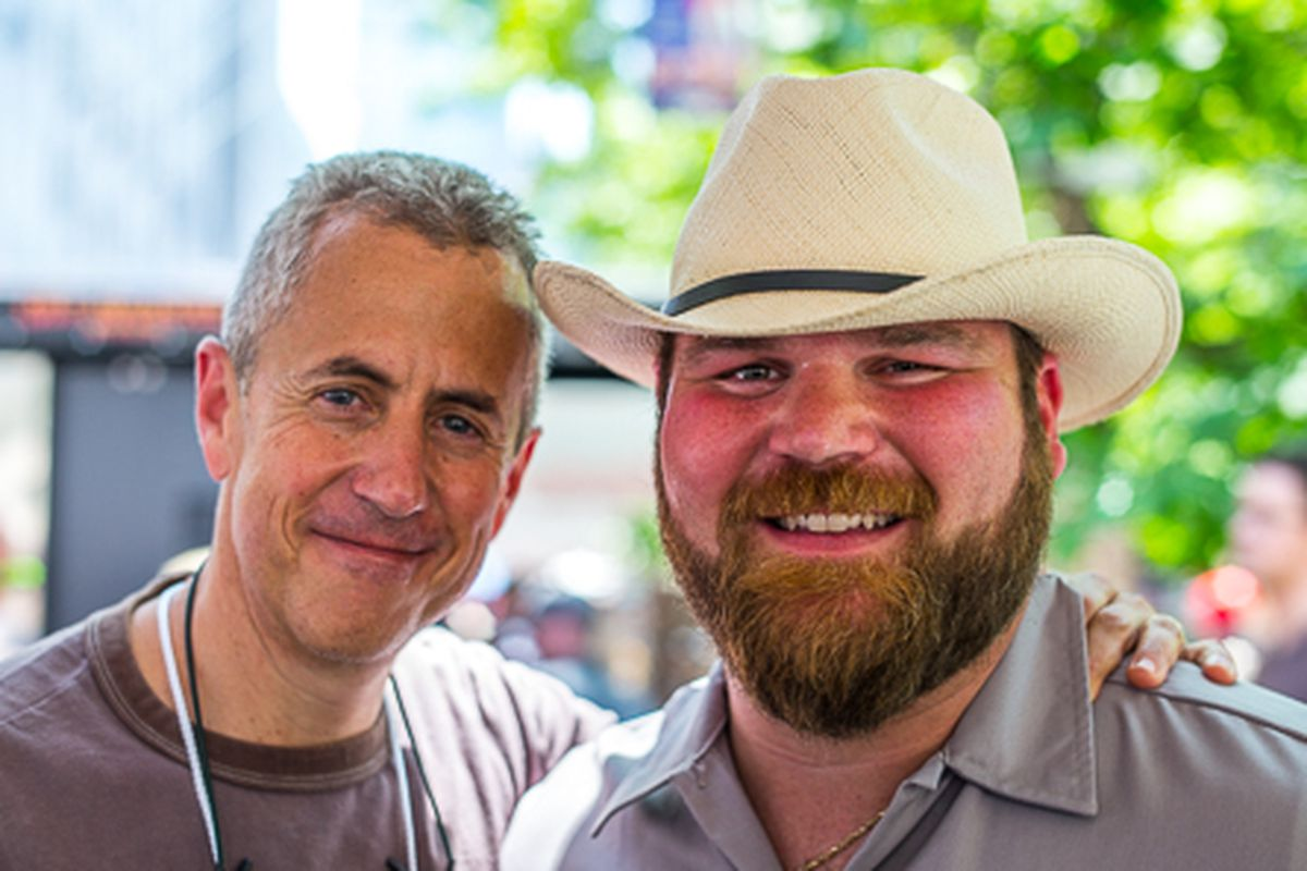 Danny Meyer and John-Paul Bourgeois