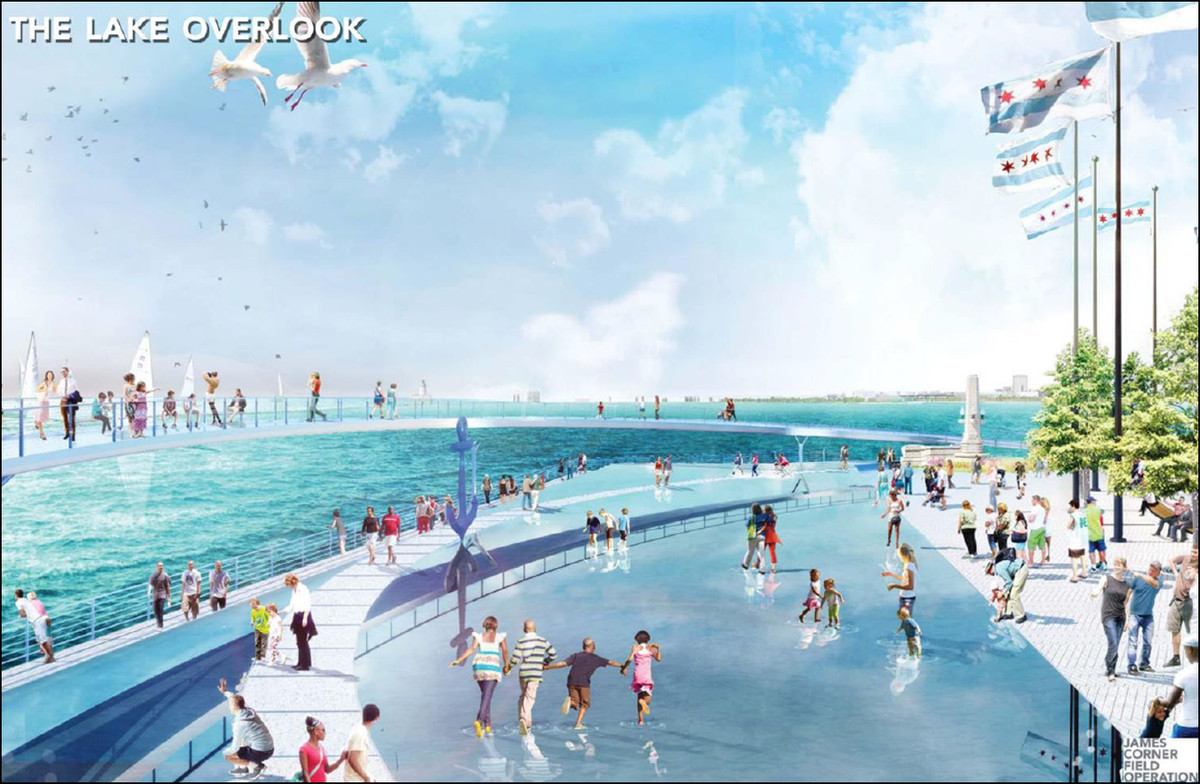 Navy Pier officials want to make the east end of the facility more inviting and worth the trip.   Chicago Plan Commission rendering