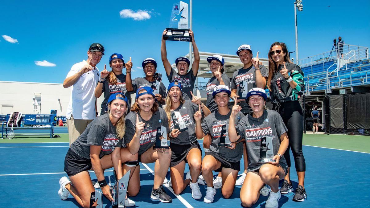 UCF Women's Tennis AAC Champions