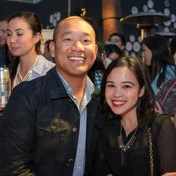 Isaac Anh and Rochelle Osoteo.